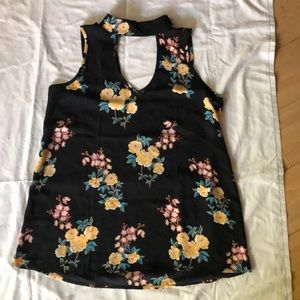 Rayon floral top